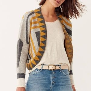 Anthropologie Pacey Cropped Cardigan